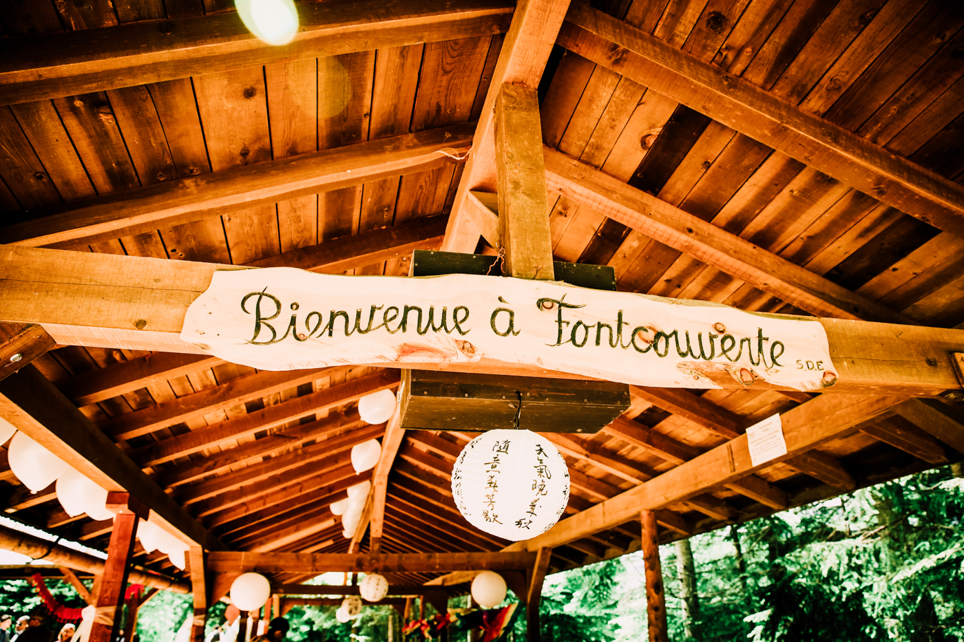 Mariage en forêt made in Valais